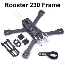 """תרנגול 230 225mm 5 """"FPV מירוץ Drone Quadcopter מסגרת 5 אינץ FPV פריסטייל מסגרת עבור זיקית תרנגול 230mm"""