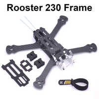 "Rooster 230 225mm 5"" FPV Racing Drone Quadcopter Frame 5 Inch FPV Freestyle Frame For Chameleon Rooster 230mm"