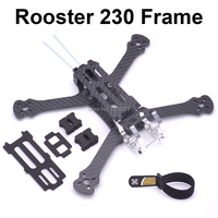 Rooster 230 225mm 5 FPV Racing Drone Quadcopter Frame 5 Inch FPV Freestyle Frame For Chameleon Rooster 230mm