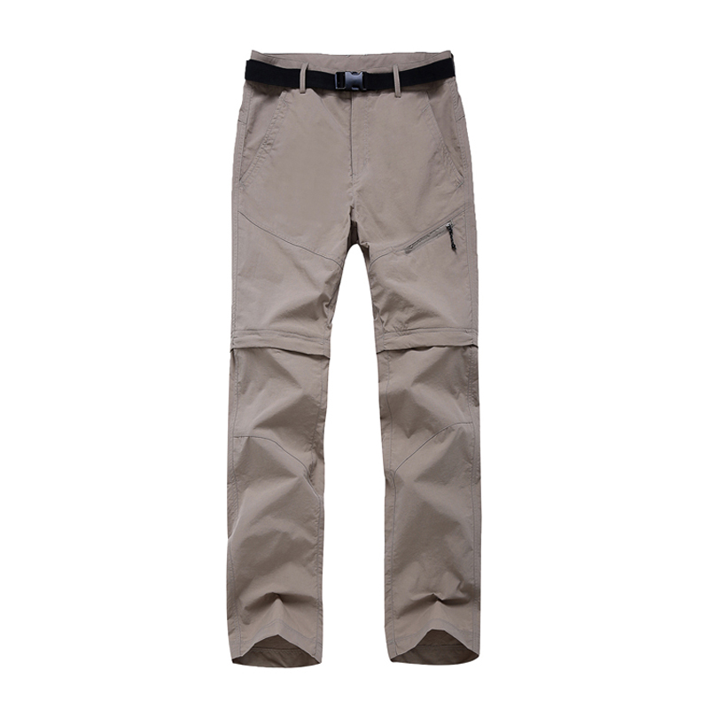 601ee07ecc6 2018 Women Quick Dry Removable Pants Spring Summer Hiking Pants Brand Sport  Outdoor Trouser Female Fishing Trekking Pant RW055-in Hiking Pants from  Sports ...