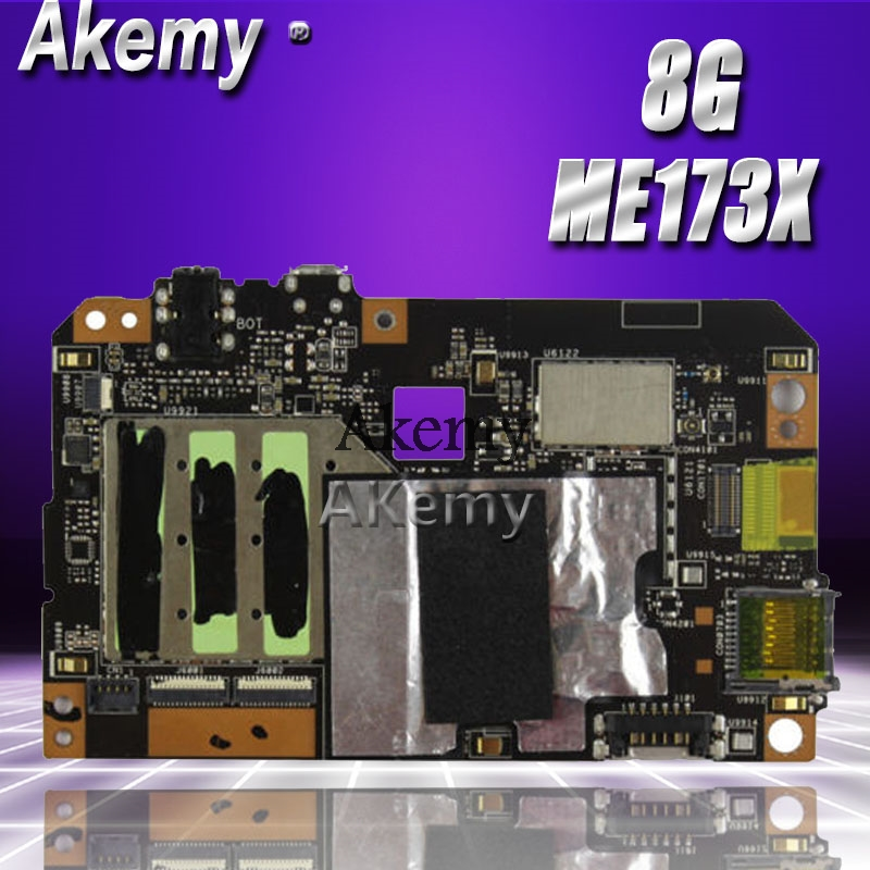 Akemy ME173X Tablet PC Motherboard For ASUS ME173X ME173 ME17 Test Original Mainboard 8G