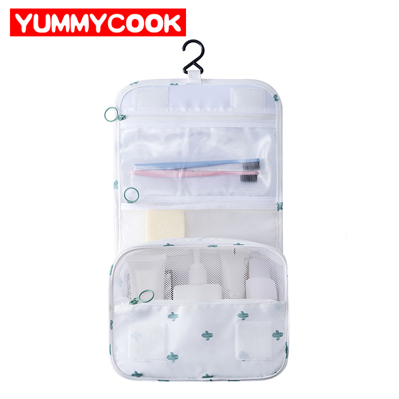 Women's Men Hanging Travel Wash Makeup Storage Bags Cosmetic Toiletry Pouch Luggage Organizer Accessories Supplies Products
