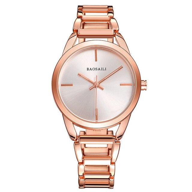 BSL1041 BAOSAILI Women Bracelet Watch Hollow Band Personalized Wrist Watch Montr