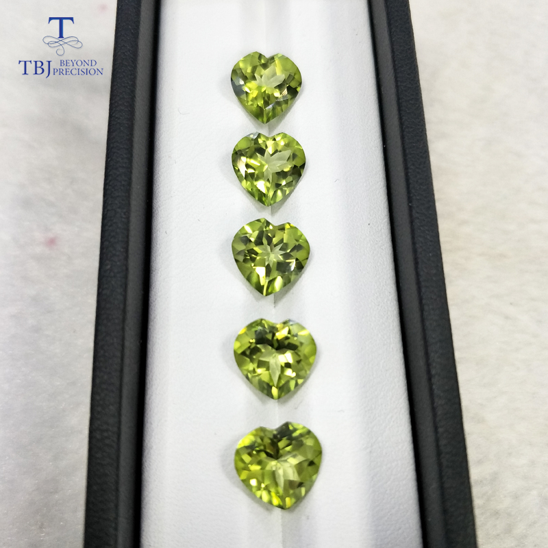 все цены на Tbj ,natural olive green topaz hs10.0 ard 4ct for 925 silver or gold jewelry mounting,good color shiny natural loose gemstones