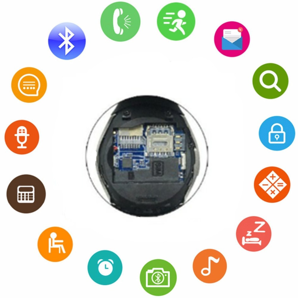 MKUYT Bluetooth Smart Watch with SIM TF Card Slot Compatible Android IOS Smartphones for Women Men Kids Boys Girls