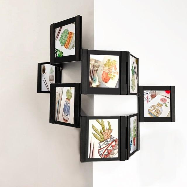 Leggyhorse WAVE 10pcs of 4inch Acrylic wall Photo Frame Flexible ...