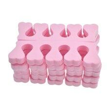 2pcs Soft Foam Sponge Toe Separator Finger Separator Nail Art Tools Feet Care Manicure Pedicure TR20