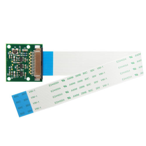 Image 5 - New Camera 5MP + ABS Case + 40P GPIO Ribbon Cable For Raspberry Pi 3 B+-in Demo Board Accessories from Computer & Office