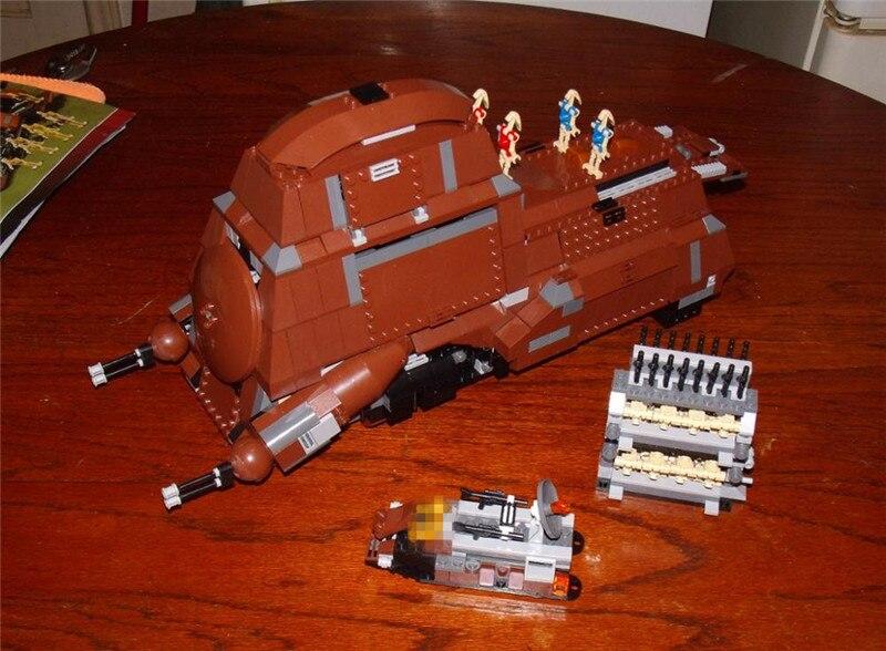 Galleria fotografica <font><b>Star</b></font> Series The Federation Transportation Tank Set MTT Children Comaptible Lepins Wars Building Blocks Bricks Toys Boy's Model