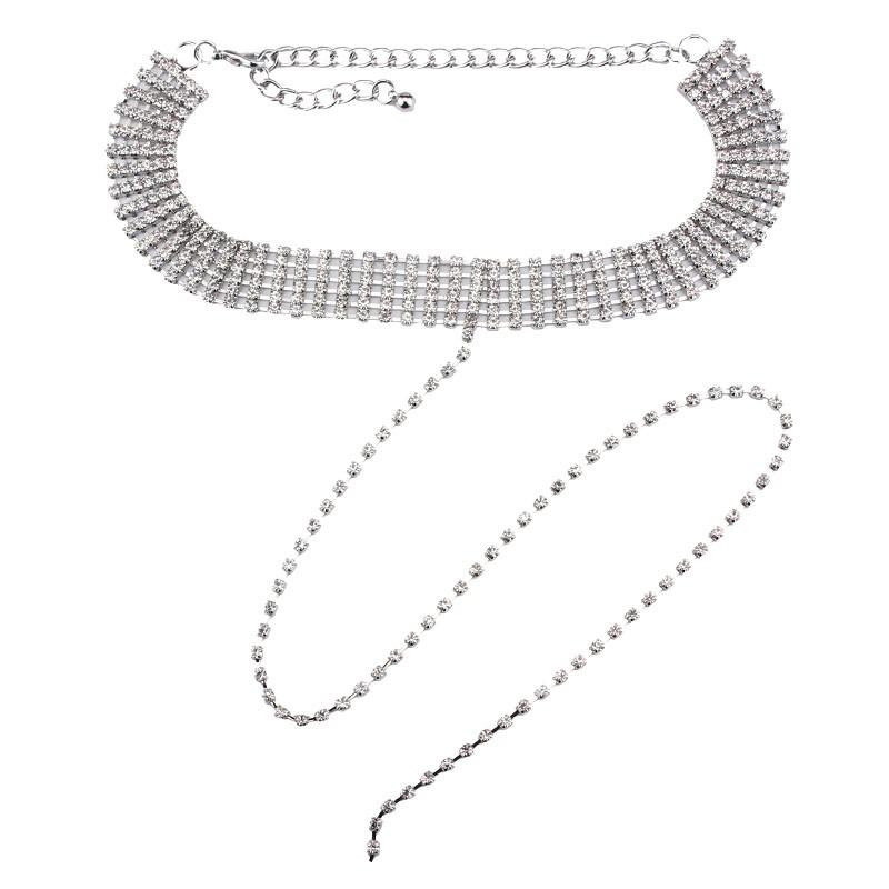 HTB16n4kOVXXXXcYXXXXq6xXFXXXP Crystal Rhinestone Choker Necklace – Various Styles