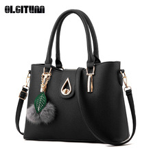 OLGITUM New Arrival 2017  Women Fashion Handbags Pu Leather Shoulder Lady Bags Messenger Big Leisure  Handbag  for Women HB010
