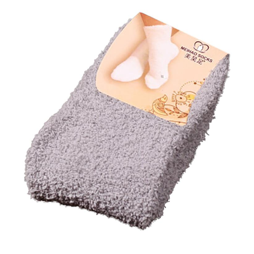 Pflichtbewusst Mode Socken Für Frau 2018 Hause Frauen Mädchen Weichen Bett Boden Socken Flauschigen Warme Winter Reine Farbe Baumwolle Socken Calzini Donna Unterwäsche & Schlafanzug