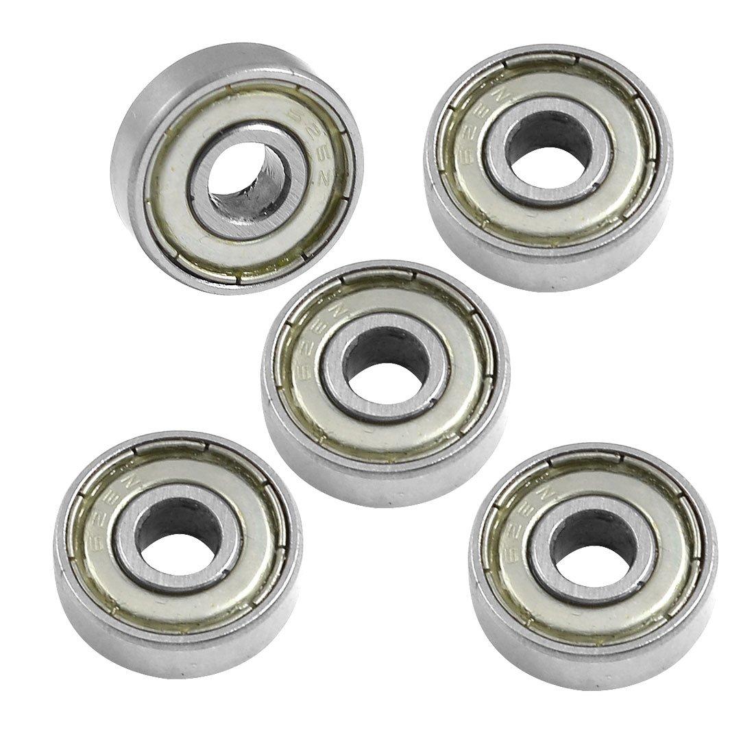 цена на THGS 626Z 6mm x 19mm x 6mm Shielded Radial Miniature Deep Groove Ball Bearing 5 pcs