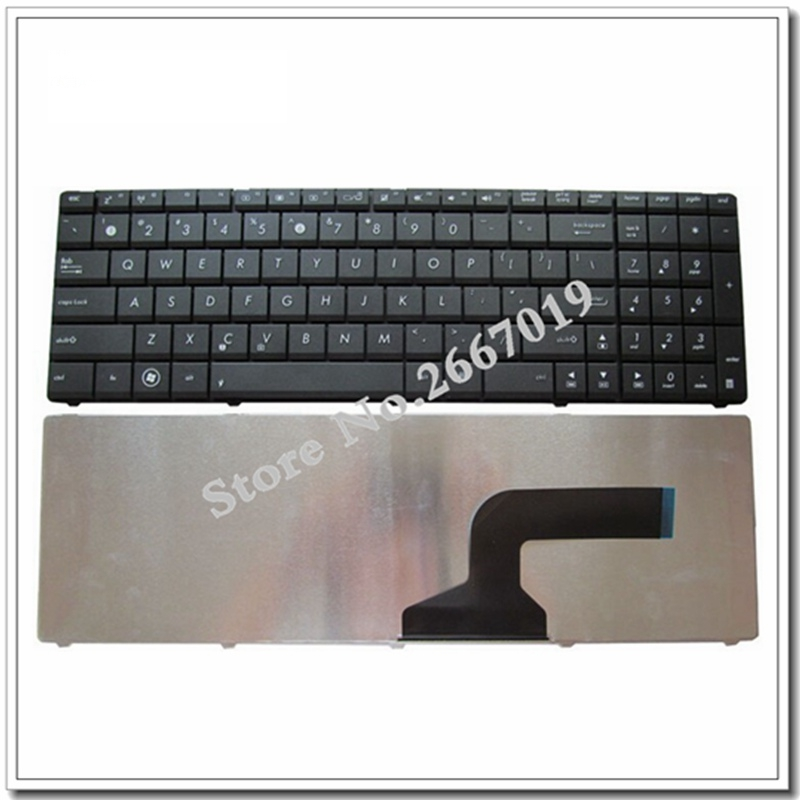 US keyboard For ASUS K54C K54L K54LY X54C X54L X54LY A54C A54L A54LY laptop keyboard MP-10A76E06528 free shipping for asus a54c x54c k54c laptop motherboard main board rev 2 1 with 4gb memory 100