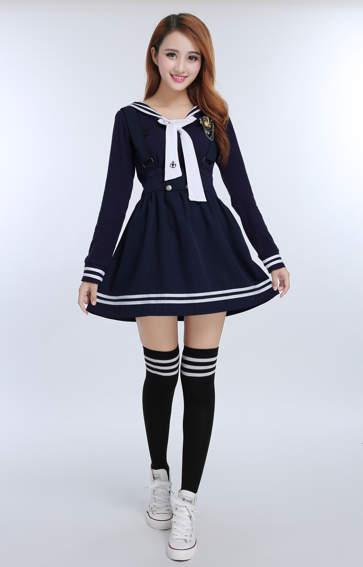With you asian sailor uniform