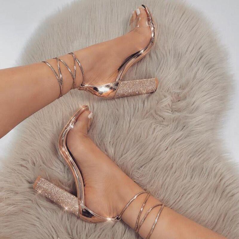 Women Pumps Fashion High Heels Classic Ladies Shoes Ankle Strap Pumps & Enlargers 35-43 talon transparent chaussure Women heelsWomen Pumps Fashion High Heels Classic Ladies Shoes Ankle Strap Pumps & Enlargers 35-43 talon transparent chaussure Women heels