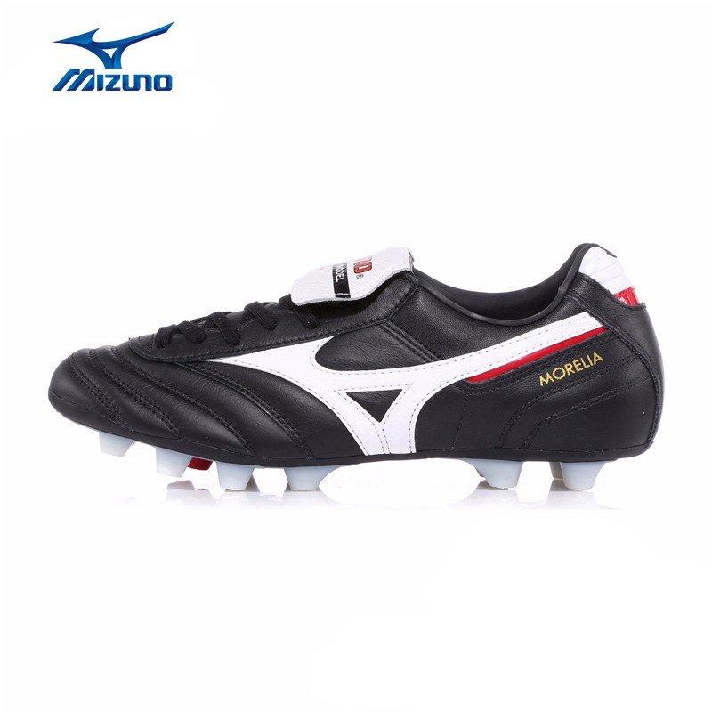 MIZUNO Men's MORELIA MD Soccer Shoes Cushioning Support Footwear Sports Shoes Sneakers 12KP-97201 YXZ034 2008 donruss sports legends 114 hope solo women s soccer cards rookie card