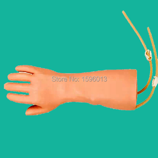Hand vein puncture training model, IV Hand Training, IV Injection Hand model,Venipuncture Hand Model economic injectable training arm model with infusion stand iv arm injection teaching model