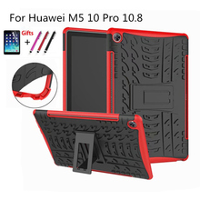 For Huawei Mediapad M5 Pro Ultra Thin Mix TPU+ PC back hard cover For Huawei M5 10.8'' case stand Mediapad 10.8 CMR-AL09 CMR-W09 стоимость