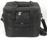 Top Grade Waterproof Portable Fabric Big Insulated Cooler Bag Black Blue Car Trunk Freezer Men Outdoor
