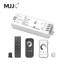 MJJC LED Dimmer 12 v 5 v 24 v 36 v 8A PWM Draadloze RF LED Dimmer Schakelaar OP OFF met 2.4g Afstandsbediening voor Enkele Kleur LED Strip Licht