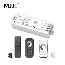 MJJC font b LED b font Dimmer 12V 5V 24V 36V 8A PWM Wireless RF font