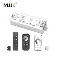 MJJC LED Dimmer 12V 5V 24V 36V 8A PWM Wireless RF LED Dimmer Switch ON OFF