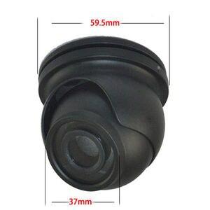 Image 2 - كاميرا تلفزيونات الدوائر المغلقة الإسكان كاميرا صغيرة CCTV كاميرا مقببة للوقاية من التخريب كاميرا معدنية الإسكان ل 32x32 مللي متر CCD/CMOS شرائح