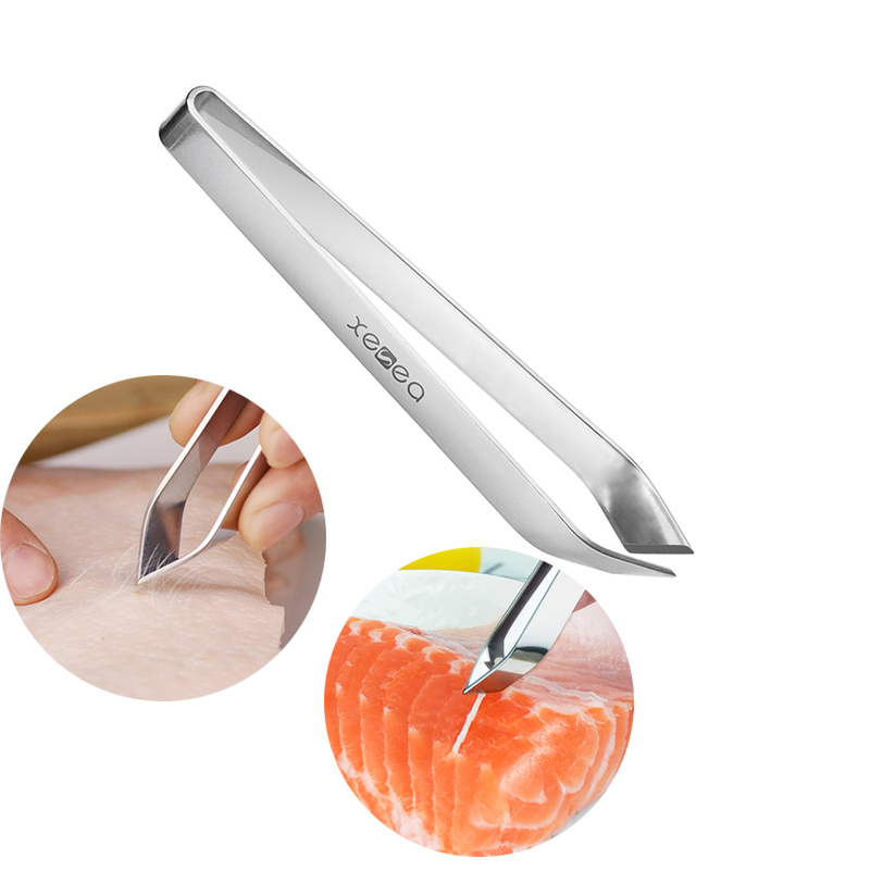 Back To Search Resultshome & Garden Seafood Tools Stainless Steel Fishbone Fur Bones Tongs Clip Fish Hair Remover Feather Plucking Remover Pincer Puller Tweezer Kitchen Tools A30