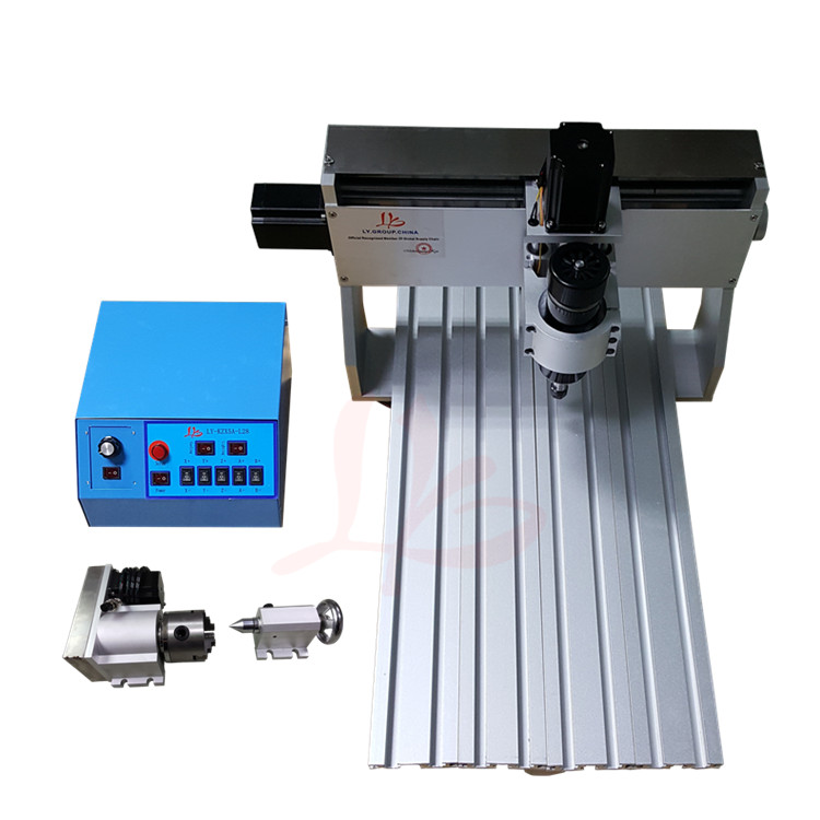 Newest cnc machine 3040Z 500w 4 axis drilling machine for wood carving,free tax to EU eur free tax cnc router 3040 5 axis wood engraving machine cnc lathe 3040 cnc drilling machine