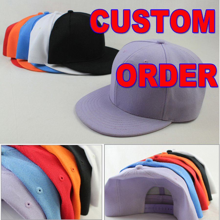 Hot High Quality Custom Logo Hat Custom Design Custom Color Size Customize  Snapback hats Baseball Caps Personalized Gorras 28a0a2b0a6d
