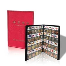 Dünya Paraları lot 60 Farklı ülke ulusal bayrak Albümü Koleksiyonu 100% orijinal gerçek para Başlangıç Kiti