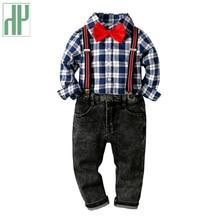 Children clothes Sets kids fashion Long Sleeve winter autumn toddler boy clothes T-shirt+Jeans Sport Suits Wear 2 3 4 5 6 8 Year