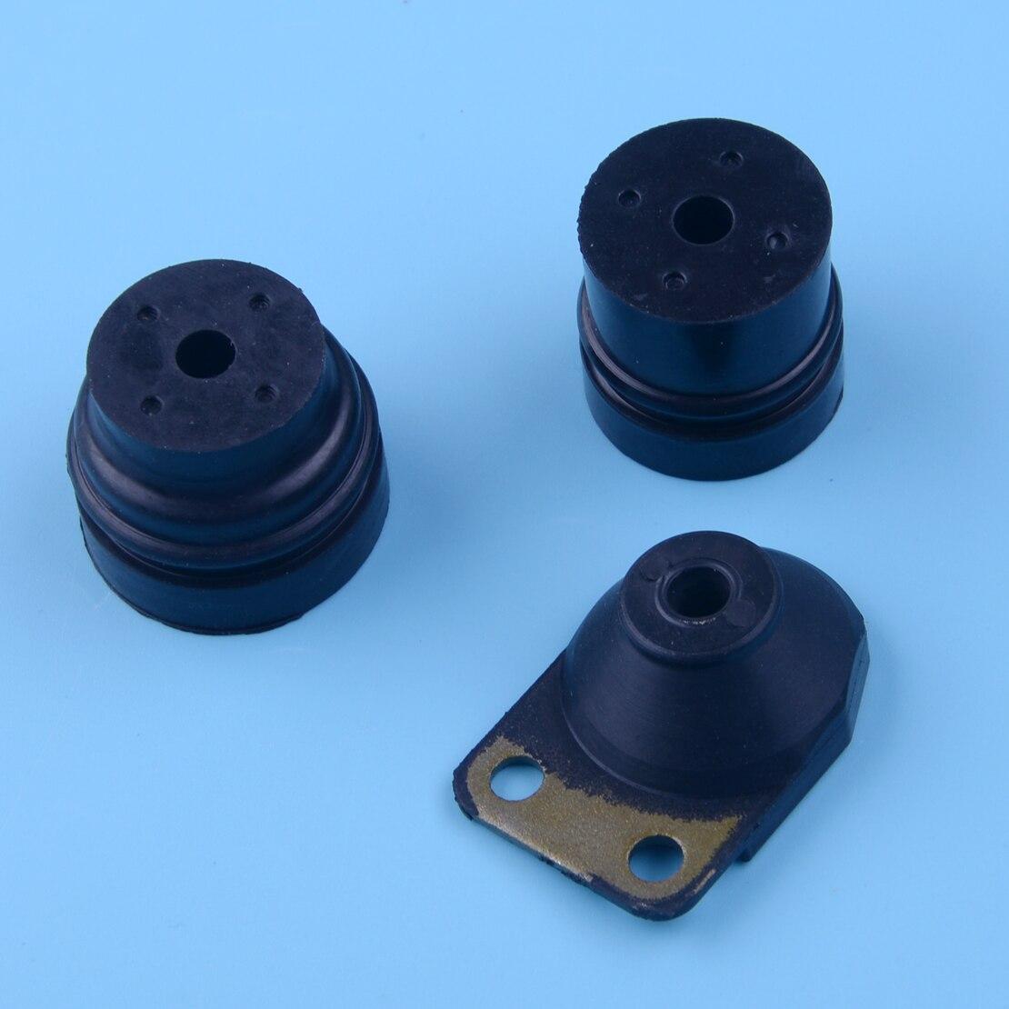 LETAOSK 3pcs/Set AV Annular Buffer Mount Kit Fit For Stihl 024 026 MS240 MS260 Chainsaw 1121 790 9909 1121 790 9912