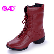 GAD Genuine Leather Women Ankle Boots 2017 Autumn/winter New Arrival Round Toe Side Zipper Fashion Cross-tied Women Shoes Boots
