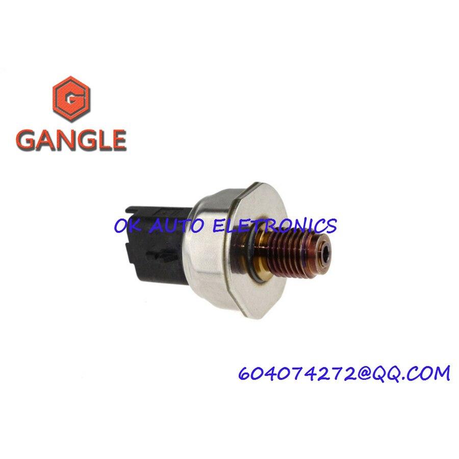 Fuel Rail Pressure Sensor For Peugeot 107 206 207 307 308 407 Fiat Citroen 55PP06 03