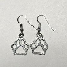 WUSQWSC New Bear Claw Earrings Paw Earrings, Cute Bear Claw Earrings Metal Earrings