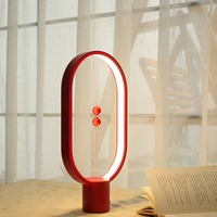 balance lamp Ellipse magnetic switch USB powered Warm Eye Care LED Lamp, Table Night Lamp, Decoration for Bed