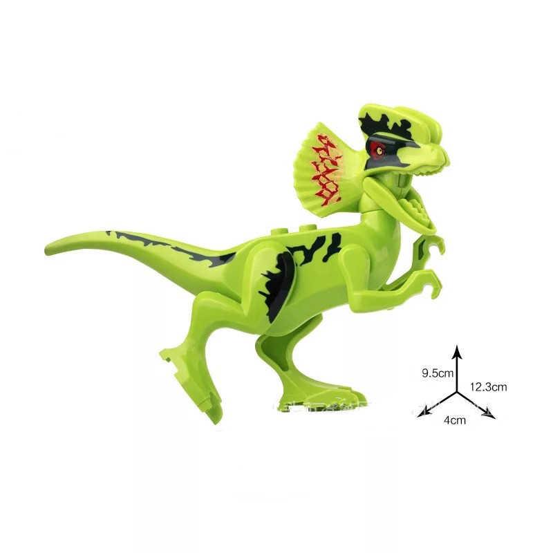 Di piccola Dimensione Jurassic Selvaggio Vita Dinosauro Giocattolo Set di Blocchi di Costruzione Del Mondo Parco Modello di Dinosauro Action Figures Bambini Ragazzo Regalo Complementi Arredo Casa