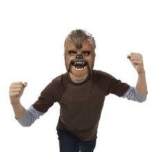 2020 nowa siła awake Chewbacca maska elektroniczne świecące na imprezę i zabawki na Halloween z głosem