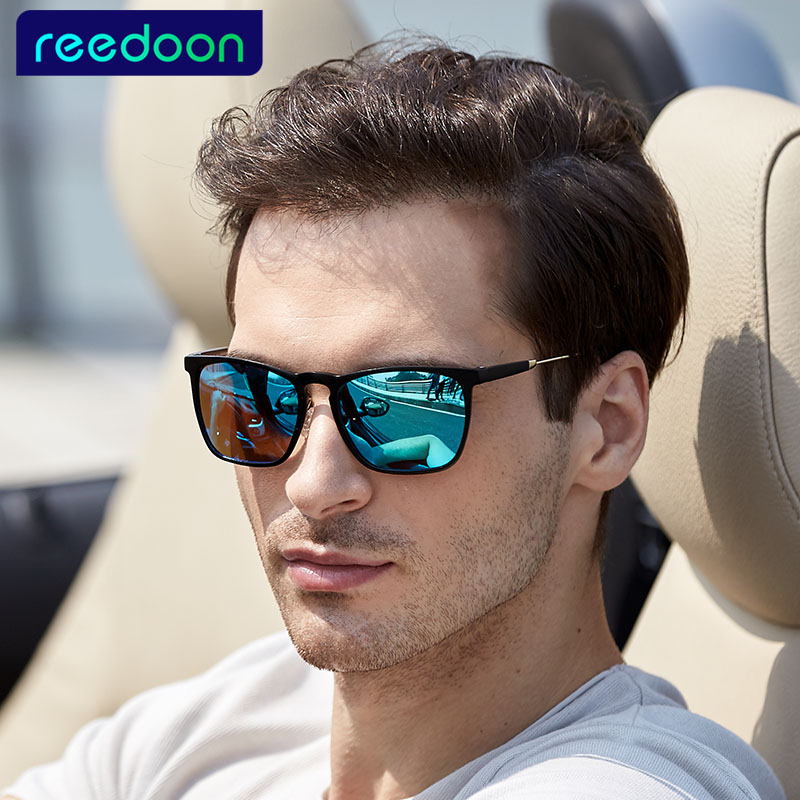 Classic Fashion Polarized Sunglasses Driving Men / Women Colorful Reflective Coating Lens Eyewear Accessories Sun Glasses