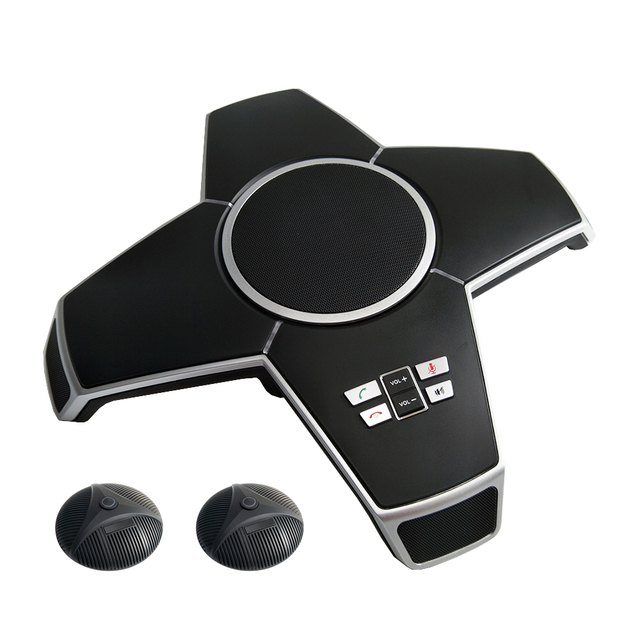 A510EB кристально чистый звук вызова бизнес-конференции Громкая связь USB Bluetooth микрофон с 2 внешними маленькими микрофонами