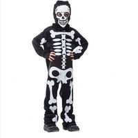 Free Shipping Halloween Halloween Carnival Party Costume Party Game Performance Clothing Children S Skeleton Skeleton