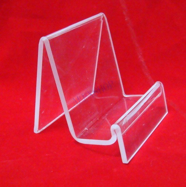 5pcs Lot Clear View Single Acrylic Wallet Display Stand Mobile