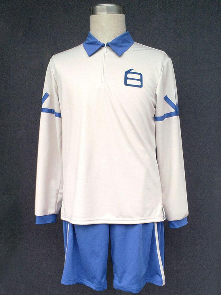 Inazuma Eleven Hakuren Alpino Junior High School de clube De Futebol  Uniforme Escolar de Verão 979c24c9f9c34
