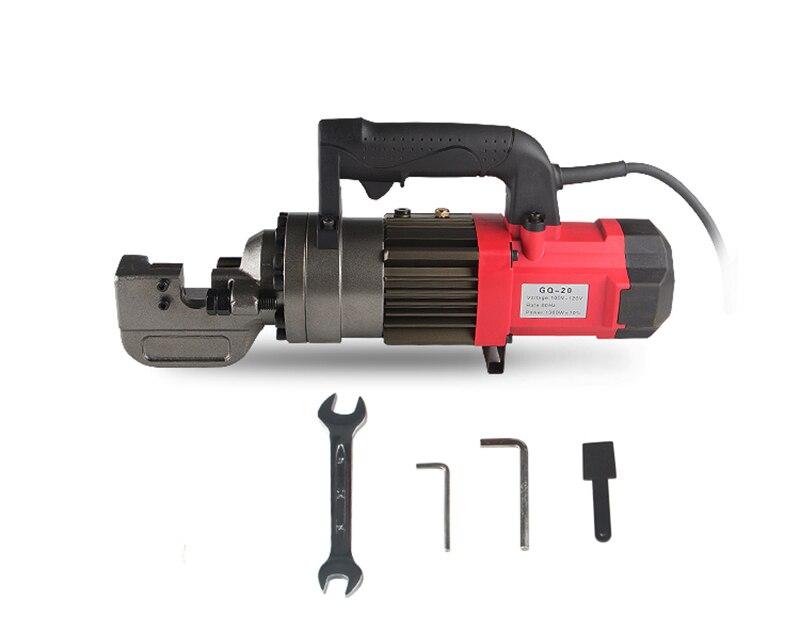 GQ 16T Electric steel bar shear Portable hydraulic cutting machine Rebar cutter Y