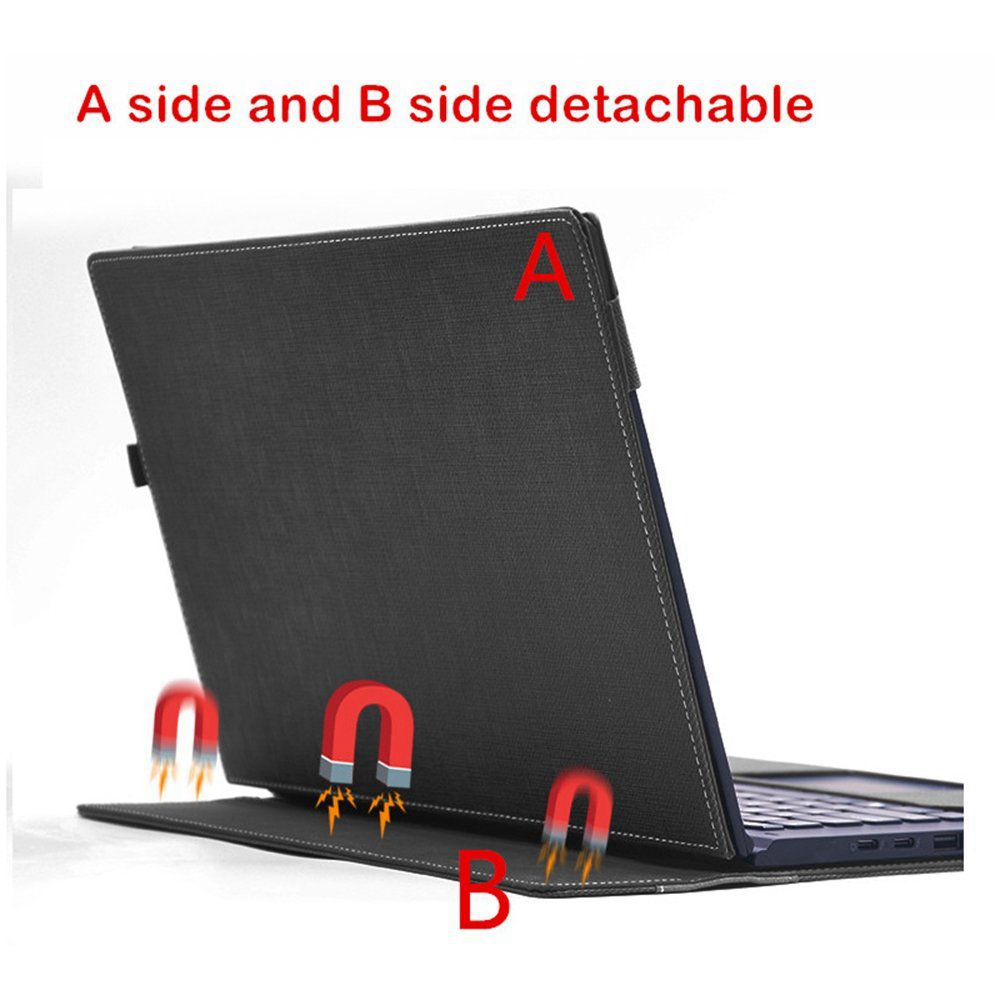 <font><b>Case</b></font> <font><b>X360</b></font> 15.6 Leather Folio Stand Hard Cover for 15-CH011NR /Spectre 15t touch 2