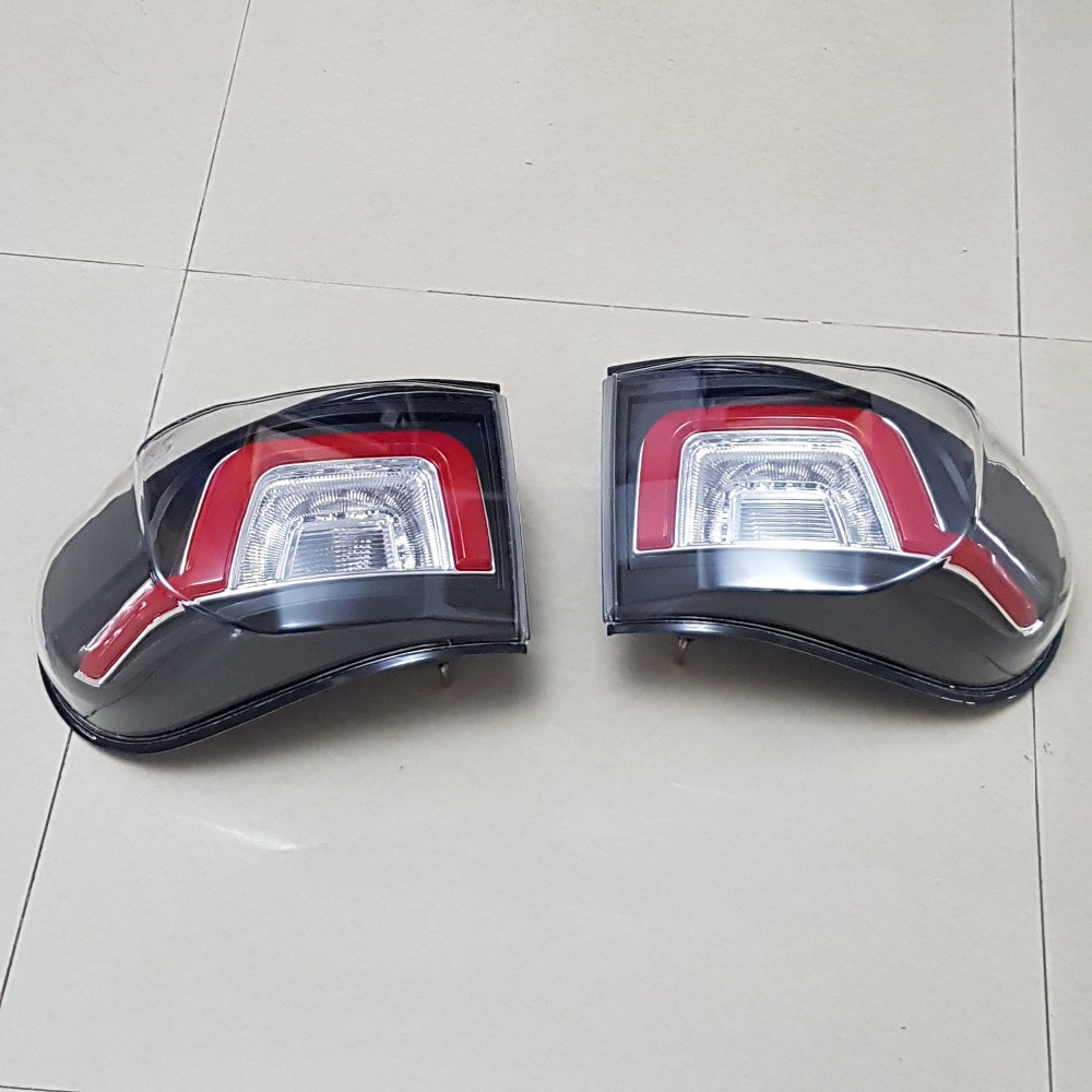 2pcs Rear LED Lights Tail Lamp Upgrade Assembly Kit For Toyota FJ Cruiser 2007 2014