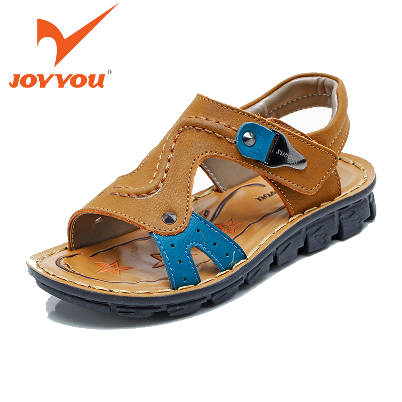 JOYYOU Brand 2017 Child Sandals Babys Beach Sandals TPR Sole Children Shoes Open Toe Kids Sandals Summer Boys Shoes Sandals 6212 joyyou brand kids sandals baby boys girls beach sandals star rivets children shoes little boys summer shoes open toe sandalias