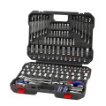 WORKPRO 164PC Socket Set Mechanics Car Repair Tool Sets SAE Wrenches Screwdrivers Ratchet Combination Tool Kits